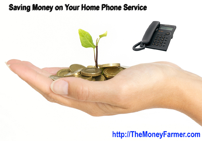 Saving Money on your home phone service