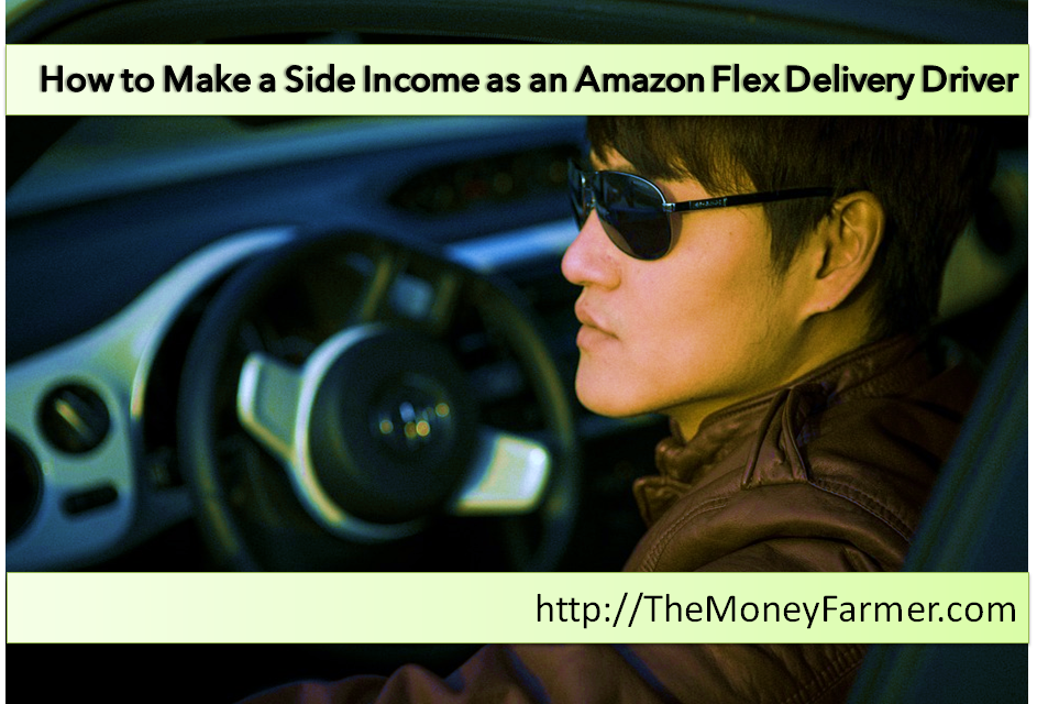 How to make a side income as an amazon flex delivery driver