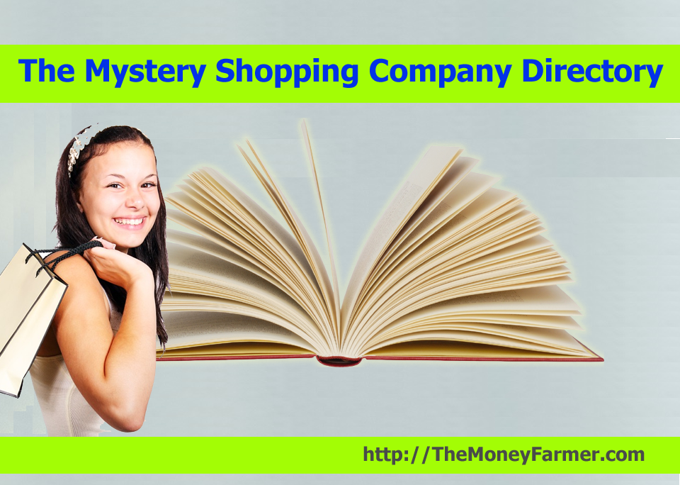 The directory of mystery shopping companies